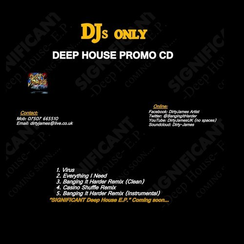 dirty james deep house aug 14